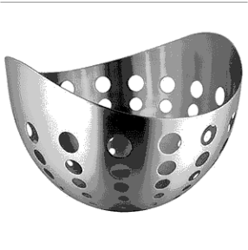 Stainless Steel Fruit Bowl (Mirror Finish)