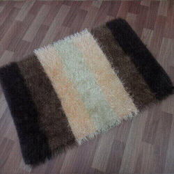 Rectangular Polyester Shaggy Carpet