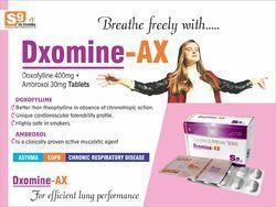 Tablet Doxofyline 400 Mg Ambroxal 30mg 10x10 Alu Alu