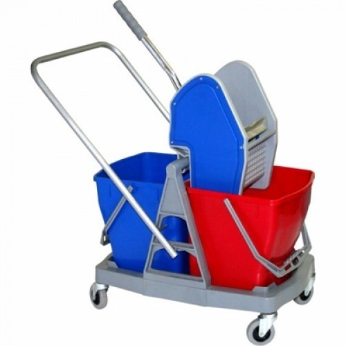 Double Bucket Wringer At Rs 3500 Piece Mop Buckets Id
