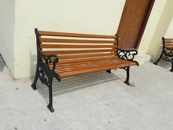 Cost Iron Park Bench