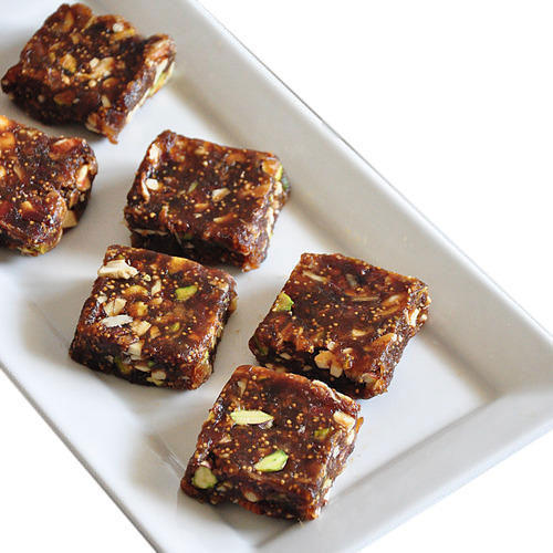 Anjeer Dry Fruits Barfi, Anjeer Barfi - Girnar Sweets & Farsan, Panvel |  ID: 13949641473
