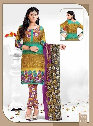 65a7906864 Printed Salwar Suits at Rs 350 /piece | Ladies Printed Suits | ID ...