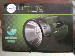 Wipro LED Rechargeable Torch 6 W