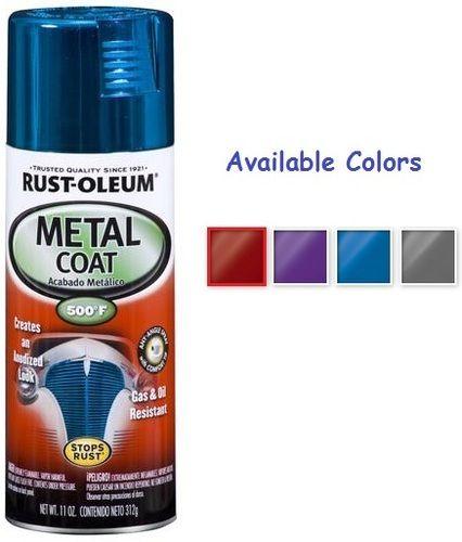 Rust Oleum Metal Coat Spray Paint
