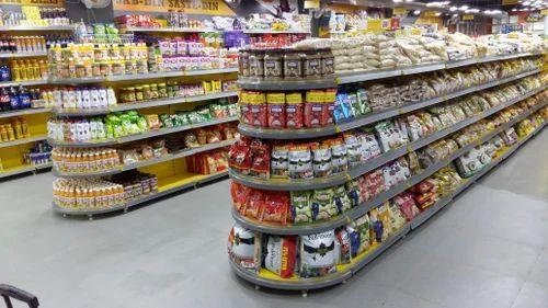 Mild Steel Supermarket Display Racks Rs 21500 Piece