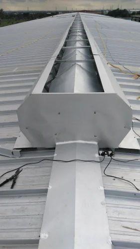 Aluminum Roof Top Ridge Ventilator Rs 5500 Meter Revathi