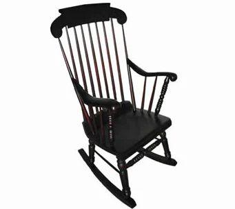 Teak Wood Antique Rocking Chair At Rs