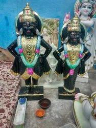 Vitthal Rukmini Marble Statue