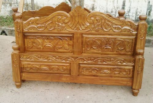 Teak Wood Cot Bed At Rs 22000 No S Cot Bed Id 12814234588