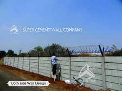 Concrete Boundary Wall Compound