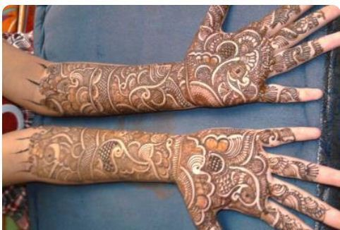 Mehndi Designs For Dulha : Bridal mehendi latest dulhan mehndi design service provider from