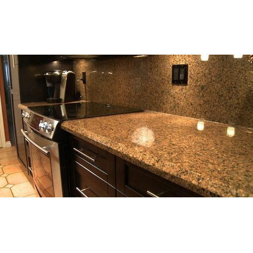 Countertops Granite Stone, Size: 6x6 Inch, Thickness: 15-20
