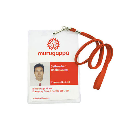 Plastic Square Employee Identity Card, Rs 35 /piece
