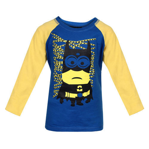8cc4c16ad Hosiery Round Blue Gugg Minion T-Shirt, Rs 599 /piece, Gugg Designs ...