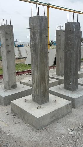 Rcc Concrete Time To Work : Footing work isolated manufacturer from chennai
