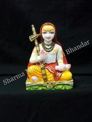 Shankracharya Marble Statue