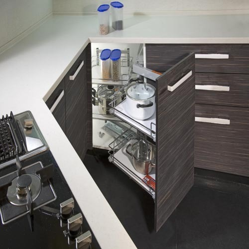 Modular Kitchen Accessories   Aluminum Modular Kitchen Complete  Manufacturer From Delhi Part 9