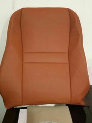 Tan Leather Car Seat Cover