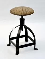 Iron Revolving Stool