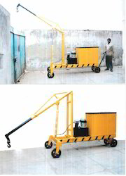 Electric Mobile Floor Crane