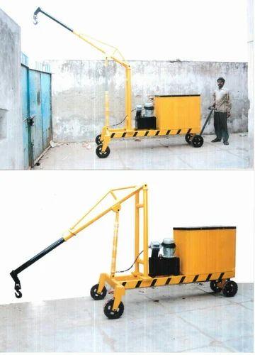 Electric Mobile Floor Crane