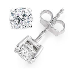 0.60 Carat Real Diamond Stud Earring