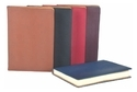 Synthetic Pu Leather Plain Office Notebook Diary, For Daily Notes, Yearly