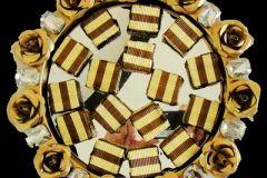Decorative Chocolate Platter/aThali