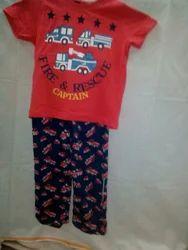 Girls Printed Kids Night dress