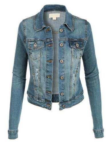 Ladies Jeans Jacket