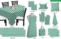 Geometrical Printed Kitchen Linen Set
