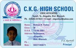 PVC Rectangular Student ID Cards