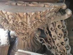 Wooden Piller