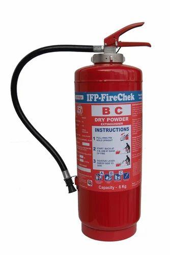 Dry Chemical Powder Extinguisher 6KG Cartridge Type
