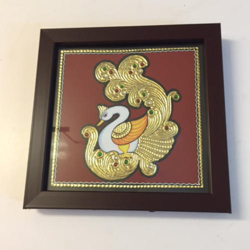 Swan Tanjore Painting