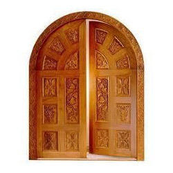 Remarkable tamil nadu wooden doors design images plan 3d for Wood carving doors hd images