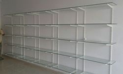 Glass Display Rack