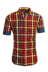 Trendy Casual Check Shirt