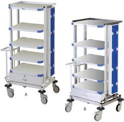 Monitor Trolley For Hospital