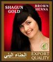 Shagun Gold Green Herbal Brown Henna, Usage: Parlour