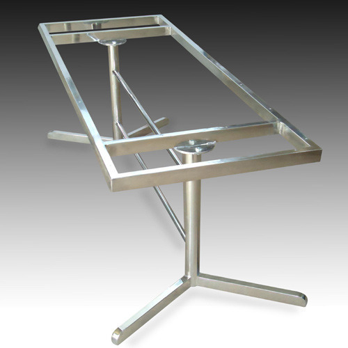 Stainless Steel Dining Table Frame At Rs Pieces Steel - Stainless steel dining table base suppliers