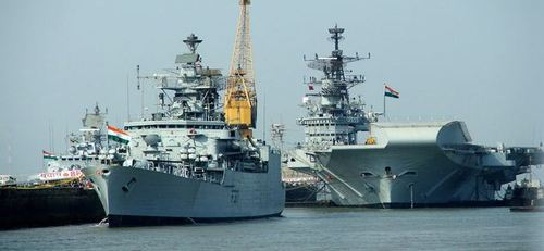 Indian Navy Shipping Services