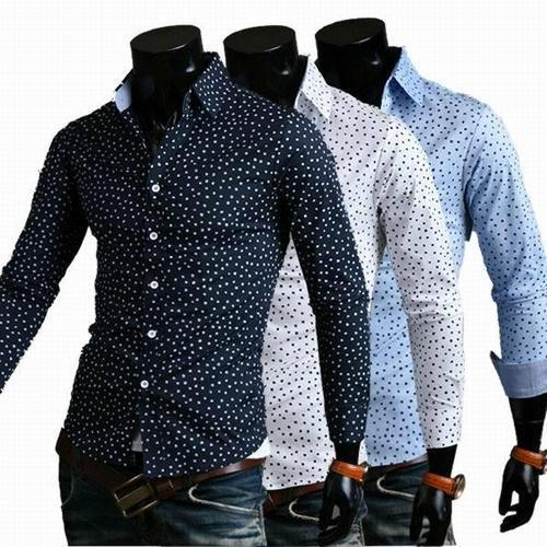 e8cd14ae28a Common Cotton Polka Dots Shirt