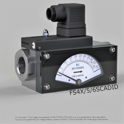 Piston Operated Dial Type Flow Switch