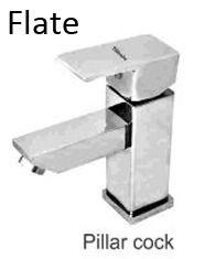 Flate Pillar Cock