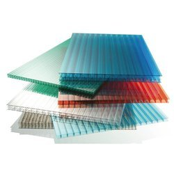 Green & Red Polycarbonate Sheet, Thickness: 2 - 3 mm