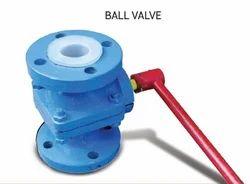 PTFE/PFA/FEP Lined Ball Valve