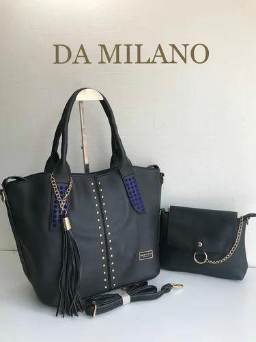 21621d78a3b7 Da Milano 2 Piece Combo Bag at Rs 1350  set