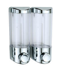 Double Soap Dispenser Chrome